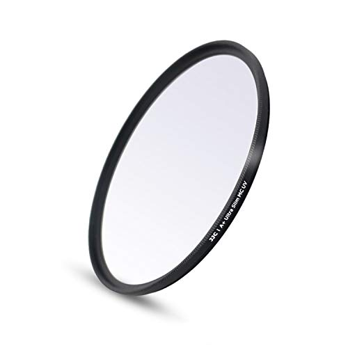 JJC Multi-Coated 40.5mm UV Filter for Sony A6000 A6100 A6300 A6400 A6500 A5100 A5000 with E PZ 16-50mm Kit Lens and Other Camera Lenses with 40.5mm Filter Thread