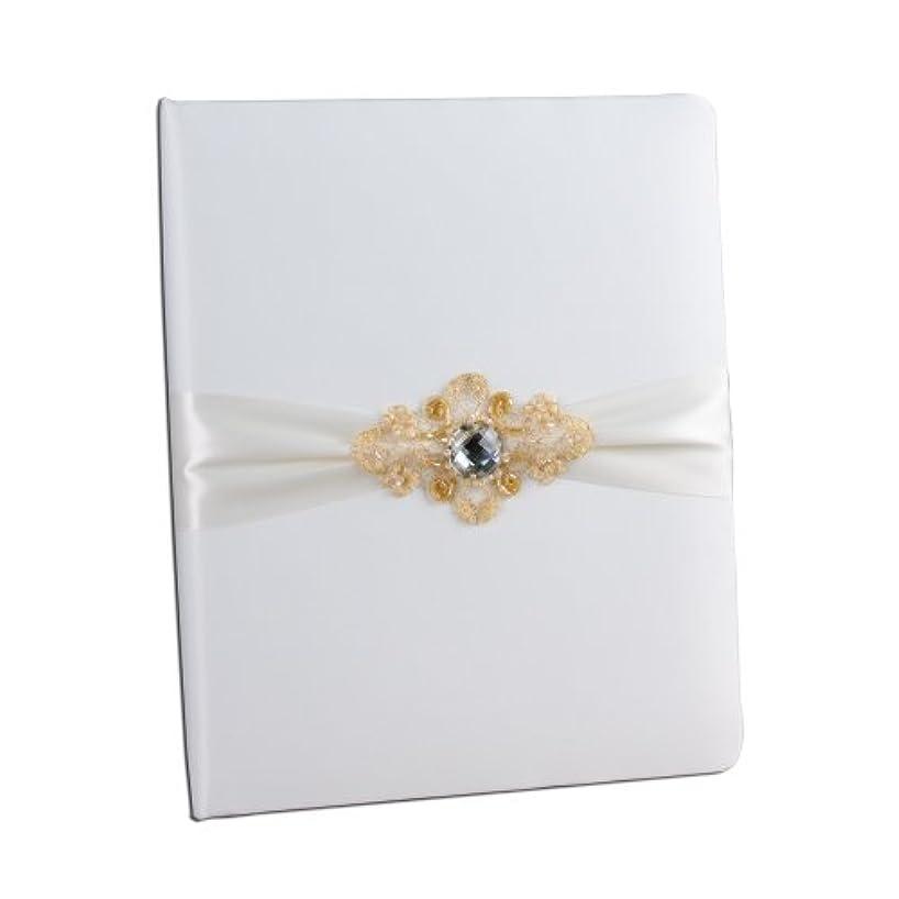 Ivy Lane Design Elizabeth Wedding Memory Book, Ivory