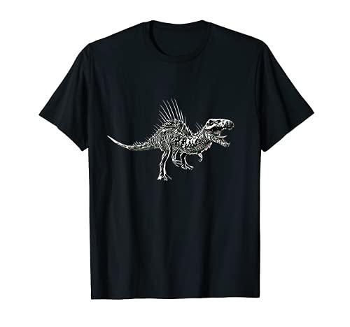 Spinosaurus Dinosaurier Motiv Saurier Urzeit Zähne Dino T-Shirt