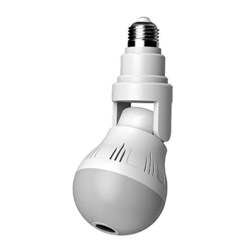Light Bulb Camera, WiFi Home Monitor Surveillance Camera for Baby/Elder/ Pet/Nanny Monitor, Wireless Camera 2.4GHz