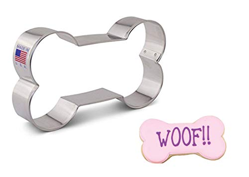 Ann Clark Cookie Cutters Extra Large Dog Bone Cookie Cutter, 5
