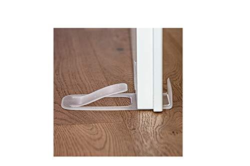 DesignNest Spring - Türstopper und Türpuffer (Transparent)
