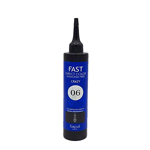 Faipa Fast Couleur directe sans ammoniaque semi-permanente Bleu 150 ml