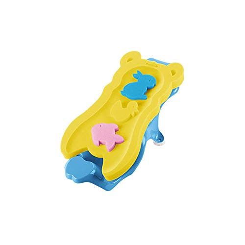 Babybadesets für Unterwegs Baby-Badewanne-Sitz for Sit-Up Kinderbadewanne Can Sit Lay rutschfeste Matte Dusche Bad Bracket Baby Badmatte Bracket Bett (Color : A)