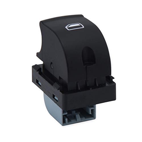 Lianlili Botón Interruptor de Ventana Interruptor de la Ventana del Maestro eléctrico E0959851 8E0959855 para Audi A4 S4 B6 2003- B7 Seat EXEO 8 (Color : Single Switch)