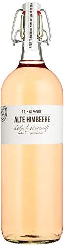 BIRKENHOF Brennerei | Alte Himbeere  - feine holzfassgereifte Spirituose  | (1 x 1l ) - 40 % vol.