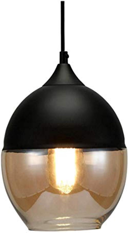 Lichtmodern Industrial Pendant Light Vintage Design Teardrop Ceiling Lighting schwarz E27 Base Fixture For Loft Bar Restaurant Coffee(Light Source Not Included) [Energy Class A+]