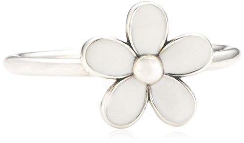 Pandora Damen-Ring 925 Sterling Silber Emaille Gr.52 (16.6) 190899EN12-52