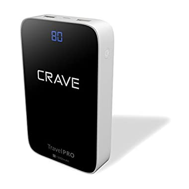 Crave Travel Pro 13000mAh Dual USB Ultra-High Density Power Bank