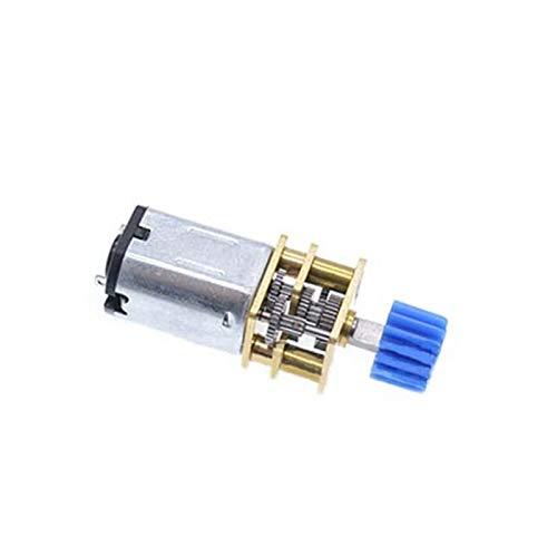 Geschwindigkeitsreduzierung Motor N20 DC 3/6 / 12V Mikrozahnradmotormotor 15-300RPM-Untersetzungsgetriebe-Motor...