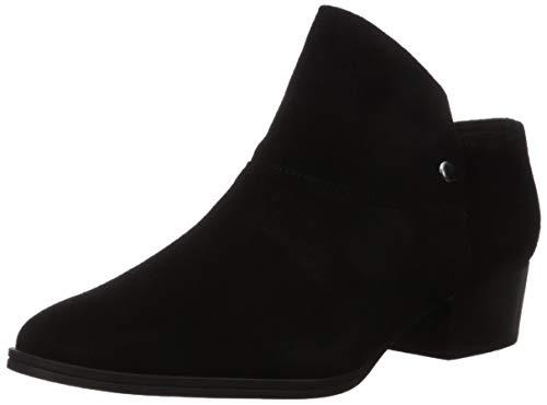 Aerosoles Women's Diane Ankle Boot, Black Suede, 10.5 M US