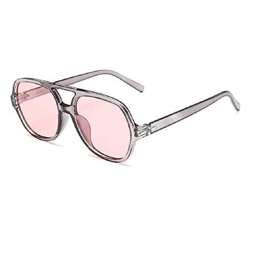 Nobrand Gafas de sol de aviador con montura grande