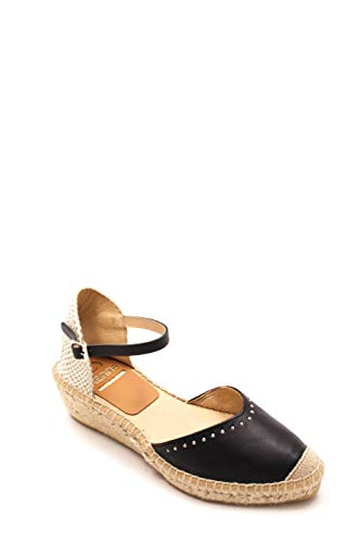 Zapato Kanna cuña Esparto Negro 37 Negro