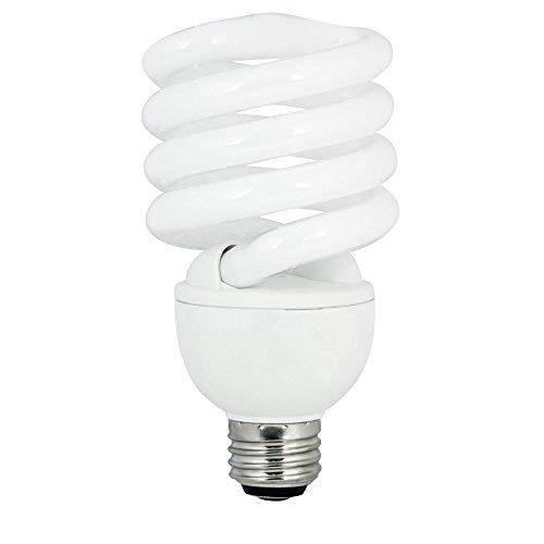Ecosmart 60W Equivalent 2700K Spiral CFL Light Bulb, Soft...