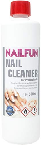 Nailcleaner 500ml = 99,9% Isopropanol kosmetisch rein - Spezial Nagel Reiniger in Studioqualität