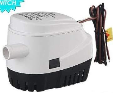 Suuonee Bilgepumpe, 12V 750GPH automatische Bilgewasser-Tauchpumpe mit Schwimmerschalter für Boot