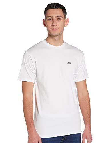 Vans Herren Left Chest Logo Tee T-Shirt, Weiß (White Black Yb), Medium