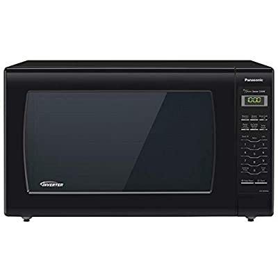 Panasonic Microwave Oven NN-SN936B Black Countertop with Inverter Technology and Genius Sensor, 2.2 Cu. Ft, 1250W (Renewed)
