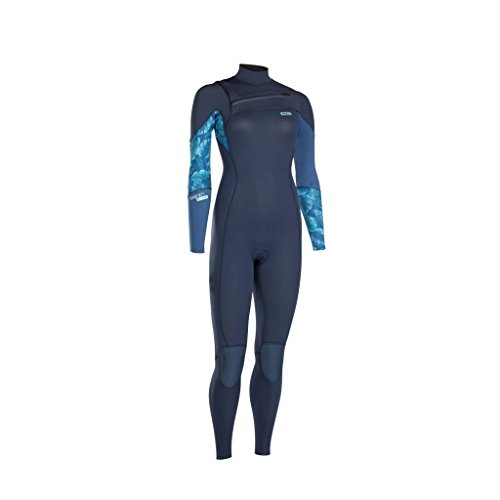 ION Dames wetsuit Trinity Core 5/4mm Glacier Blue XS