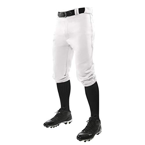 CHAMPRO Triple Crown Knicker Style Youth Baseball Pants in Solid Color with Reinforced Sliding Areas