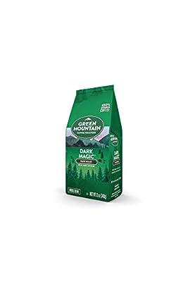 Green Mountain Coffee Roasters Dark Magic, Whole Bean Coffee, Dark Roast, Bagged 12 oz