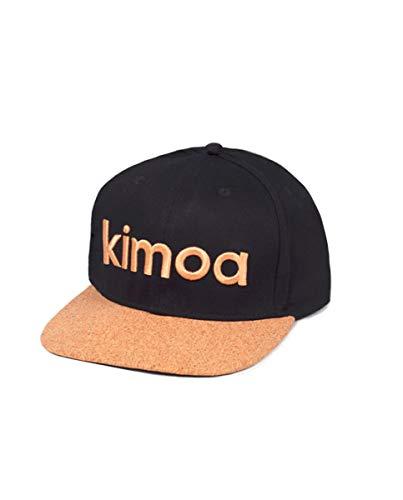Kimoa - Plana Gorra de béisbol, Negro, Estándar Unisex Adulto