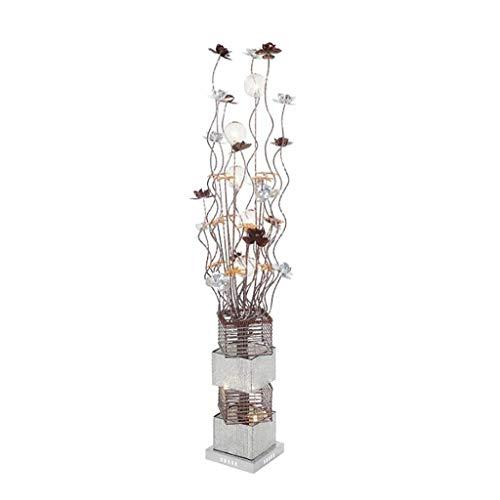 FAFZ LED vloerlamp/vaas decoratie vloerlamp/slaapkamer woonkamer staande lamp/Retro bar vloerlamp (grootte: 23 × 23 × 145 cm)