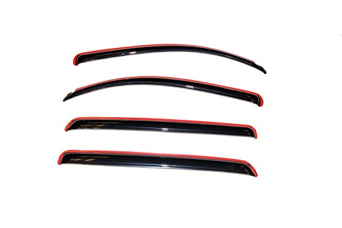 Top window deflectors toyota tundra crewmax for 2020