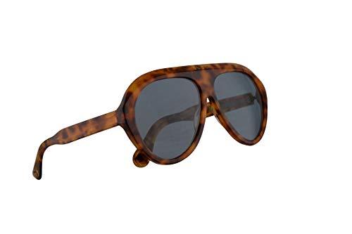 Gucci GG0479S Sonnenbrille Havana Braun Mit Blauen Gläsern 61mm 004 GG0479/S 0479/S GG 0479S