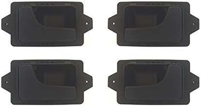 DELPA CL4723 > 4 pcs Set Inside Interior Inner Door Handles Black Fits: BMW 3 5 6 7 Series E12 E23 E24 E28 E30 E32 E34 E36 E38 E39 E46 E60 E61 E63 E64 E65 E66 F01 F02