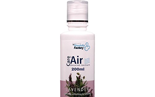 FOR AIR PURIFIERS - CareforAir Lavender Essence 200mL –Sweet Floral Scent -Relaxing And Refreshing -Good For Calming Anger and Nervousness - Good For Repelling Pests - USE IN REVITALIZERS, IONIZERS, HUMIDIFIERS - 100% Product Satisfaction Guarantee.