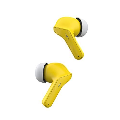 Drahtlose Kopfhörer Bluetooth-Headset mit Lärmunterdrückungung Bluetooth-Headset Wireless 5.0 Gaming-Spiele geräuschunterdrückende Ohrstöpsel Mit Digitalanzeige IP4X In-Ear für Gamer