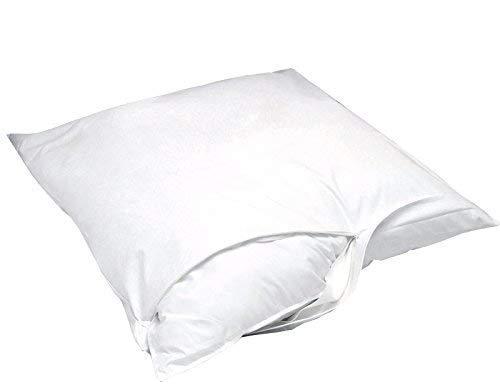 Softsan Protect Plus Kissenbezug milbendicht 50 x 50 cm, Encasing für Kopfkissen, Milbenschutz für Hausstauballergiker
