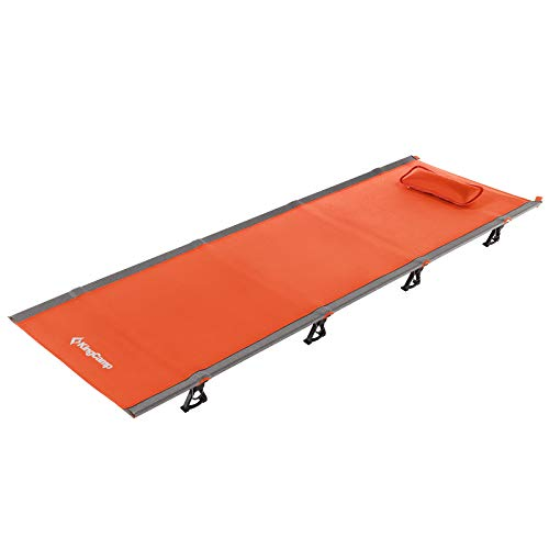 KingCamp Ultralight Compact Folding Camping Tent Cot Bed, 4.9 Pounds, ORANGE