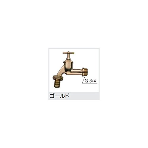 タカショー 雨水タンク専用蛇口 LDA-001G #47073000 ゴールド