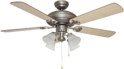 Harbor Breeze Centreville 42 In Oil Rubbed Bronze Indoor Flush Mount Ceiling Fan With Light Kit