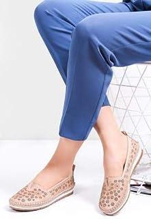 TARÇIN Hakiki Deri Günlük Kadın Babet Ayakkabı TRC78-0059