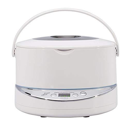 Nettoyeur à ultrasons Portable avec synchronisation d'affichage à Cristaux liquides Fonction et 750ml Capacité Sonic Machine Cleaner Jewellery