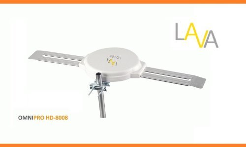Portable, LAVA HD-8008 360 DEGREES HDTV DIGITAL AMPLIFIED OUTDOOR TV ANTENNA HD VHF UHF Consumer Electronic Gadget Shop