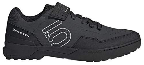 Five Ten Kestrel Lace Mountain Bike Shoe - Men's Carbon/Black/Clear Grey 12
