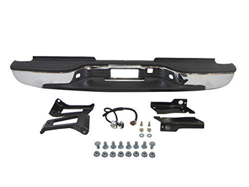 New Rear Step Bumper ASSY Chrome 1999-2006 Chevy Siverado Gmc Sierra 2500HD 3500