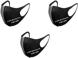 Hotroad Maschera per la Bocca alla Moda Unisex, Confortevole e Permeabile All'aria per i Viaggi in Bicicletta, Uso...