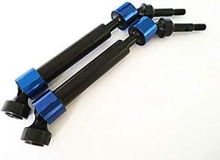 Hard Steel Splined CVD Driveshaft Axles -2pcs for Traxxas 1/10 E-Revo Summit E-MAXX T-MAXX 5451X