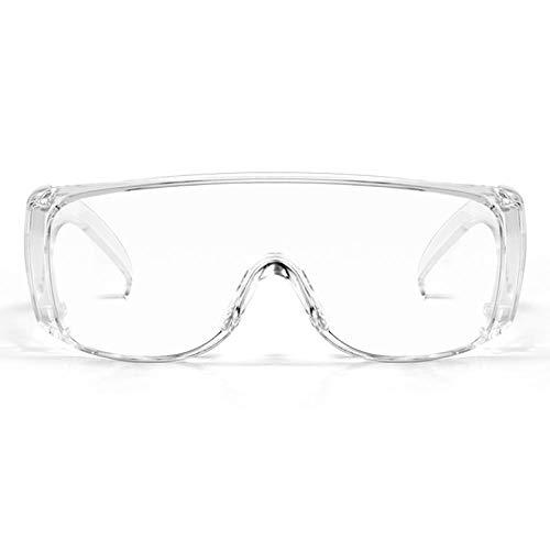 Goggle bril, transparant, voor de keuken, rookbescherming, dubbelzijdig, anti-condens, spatwaterdicht, beslaat niet. Blinds Transparent Glasses