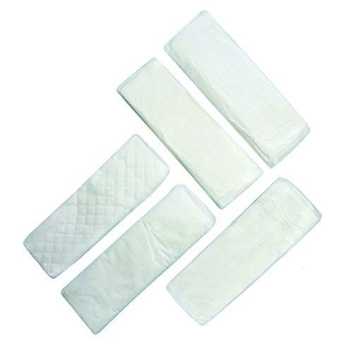Saugeinlagen und Saugverstärker für Windeln - Testpaket mit 5 x 5 verschiedenen Einlagen