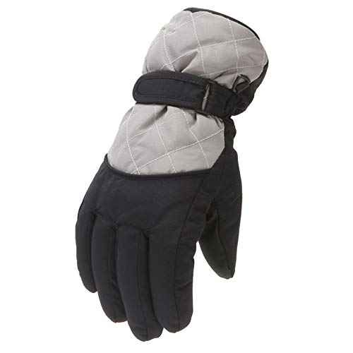 Briskorry 6-11 Jahren Kinder Handschuhe Winter Warme Winddichte wasserdichte Skihandschuhe Fahrradhandschuhe Skifahren Radfahren Reiten Wandern Gloves