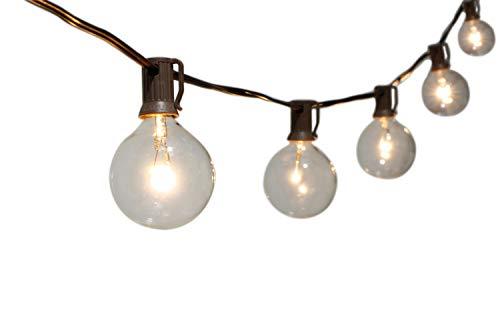 Dehner Solar-Lichterkette Huelva mit 10 LED-Glühbirnen, warmweiß, Länge 270 cm, Leuchtdauer bis 6 Std, schwarz