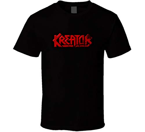 Lishui Kreator Phantom Anticristo Album T Shirt Nero Nero XL