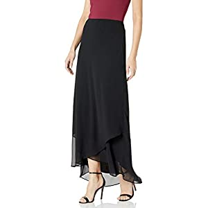 Alex Evenings Women's Long Dress Skirt (Regular and Plus Sizes)