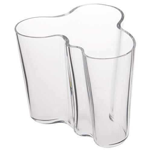 Iittala Vase Aalto 95 mm Klar aus Glas